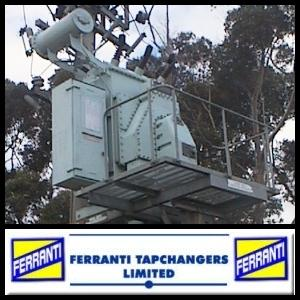 Ferranti DS2 tapchanger on a 22kV line regulator